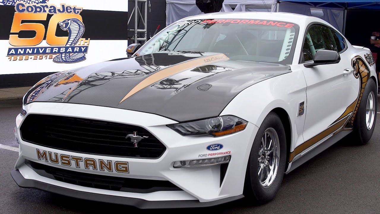 Mustang Cobra Jet >> 2018 Ford Mustang Cobra Jet 50th Anniversary Edition Reveal