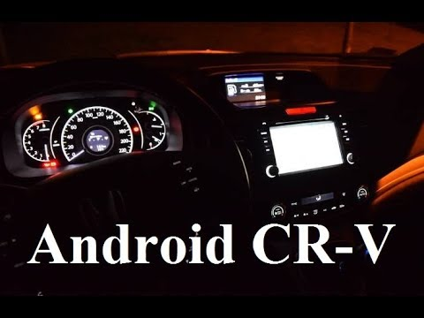 How To Fit Android Car Stereo System - Honda CR-V - Seicane.com