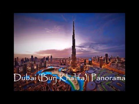 Dubai Burj Khalifa Panorama