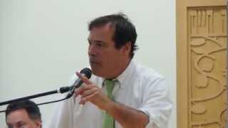 Randy Credico Speaks At Mayoral Forum on NYC Libraries