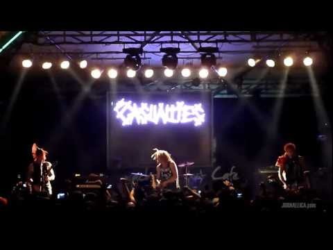The Casualties - Social Outcast (Live in Jakarta, 10 December 2011)