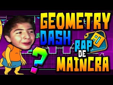 GEOMETRY DASH l EL RAP DE MAINCRA
