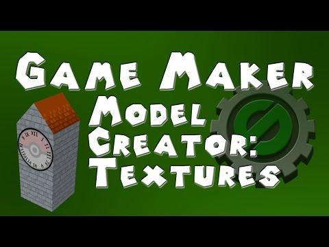 Game Maker 3D - Model Creator For Game Maker - Using Textures