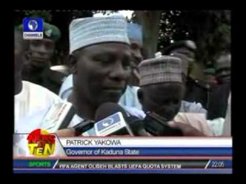 Kaduna Violence:Yakowa asks residents to be security-conscious