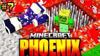 RONJA hat MIR EINE TODESFALLE GEBAUT?! - Minecraft Phoenix #007 [Deutsch/HD]