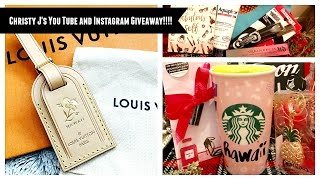 Christy J's YouTube and Instagram Giveaway!!!