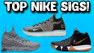 Top 10 Nike Signature Basketball Shoes!