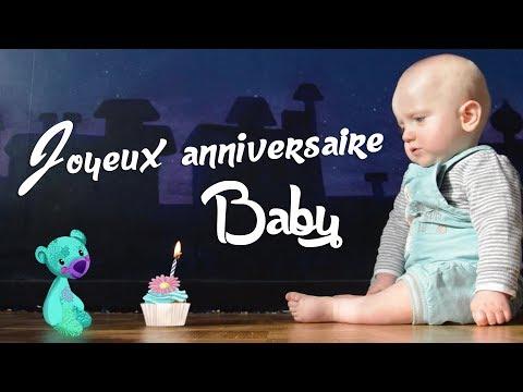 Joyeux Anniversaire Baby ! 1 an de Titouan
