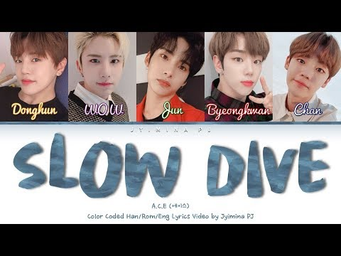 Download A.C.E 에이스 - 'Slow Dive' s Color Coded_Han_Rom_Eng Mp4 baru