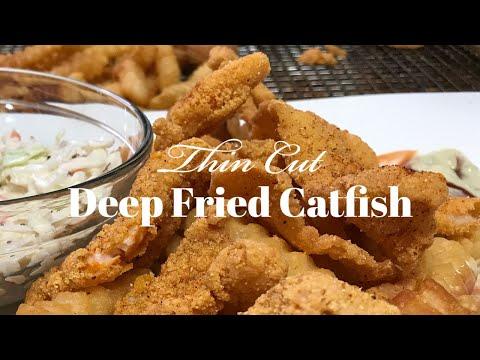 Southern Fried Catfish ~ Louisiana Style