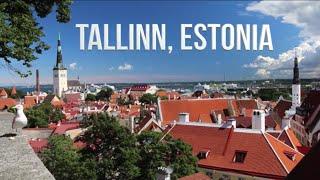 Beautiful Walk Through Tallinn, Estonia - The Old City