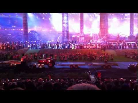 London 2012 Olympic Opening Ceremony (the Olympic Rings)