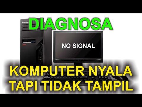Cara Memperbaiki Komputer Nyala Tapi Tidak Tampil ke Monitor