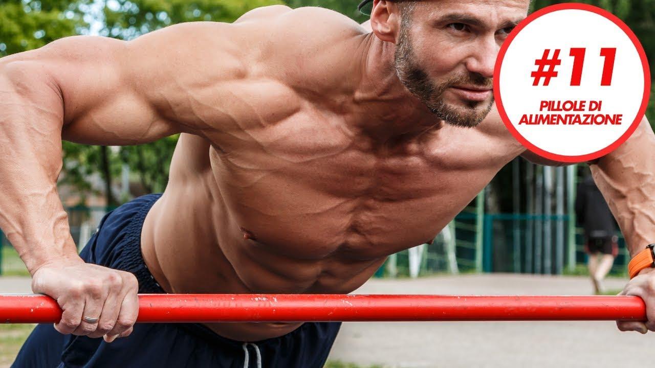 dieta semplice per aumentare massa muscolare