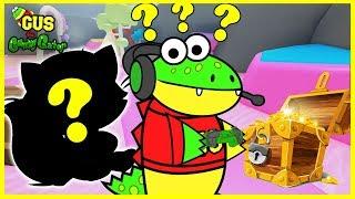 Sorpresa Ospite LET'S PLAY ROBLOX TREASURE HUNT SIMULATOR con Gus il Gummy Gator !!