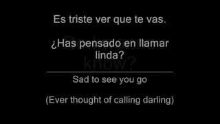 Do I wanna know - Arctic Monkeys Sub Letra (Inglés - Español)