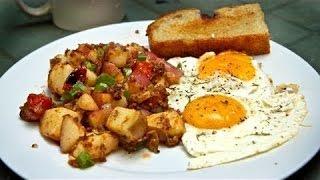 Como Hacer Papas para desayuno ( las mejores papas)
