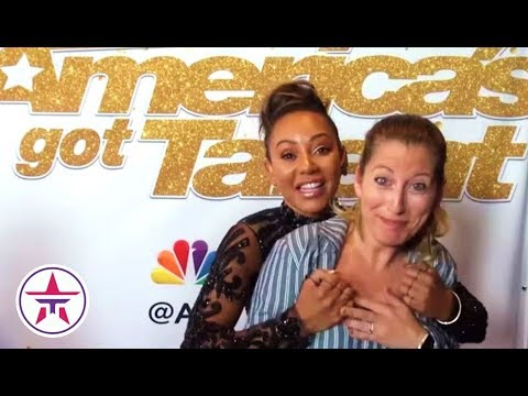 America's Got Talent: Mel B On Sacred Riana CREEPING Her Out & Clears Up Opinion On Danger Acts!