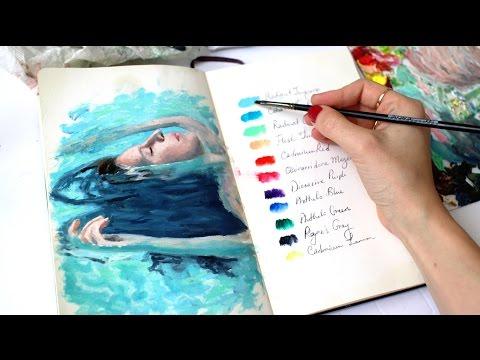 How I Developed My Art Style | Sketchbook Sunday #30