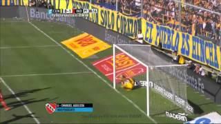 Gol de Aguilera. Central 0 - Independiente 1. Fecha 15. Primera División 2015. FPT