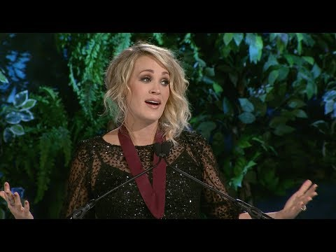 Tim Palmer - Carrie Underwood Inducted Into Oklahoma Hall of Fame