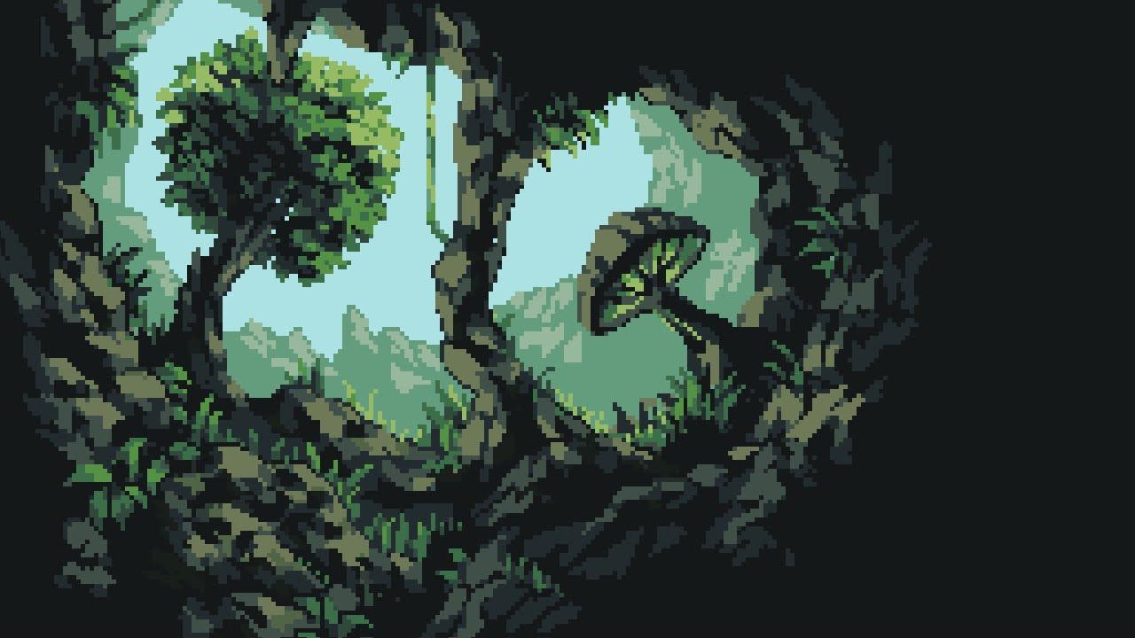 SPEEDART - Jungle Background - Pixel art - YouTube