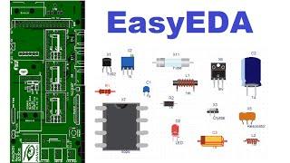 EasyEDA - Сервис по созданию электронных схем и печатных плат онлайн