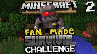 Minecraft Survival Challenges: Alice In Wonderland (Fan Made)