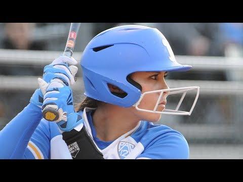 Highlights: No. 4 UCLA softball edges No. 11 Arizona in opening game of series