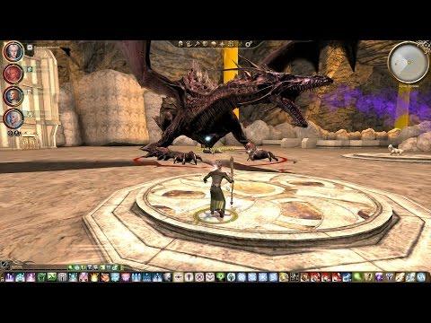 Dragon Age: Origins- прохождение мода Храм Вулак, 6-я часть(Логово драконов).