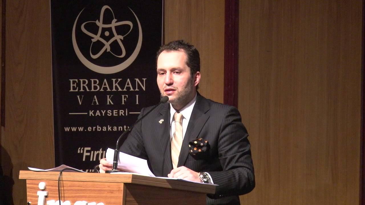 Kayseri Erbakan Vakfı Muhammed Ali Fatih ERBAKAN Açılış Konuşması 5/6
