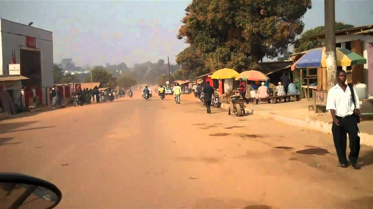 1 minute and 43 seconds in Ganta Liberia - YouTube
