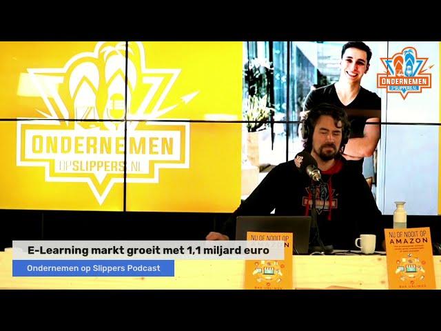 Slippertje 43: (Clubhouse sessie) E-Learning goeroes & Marketing met Martijn van Tongeren