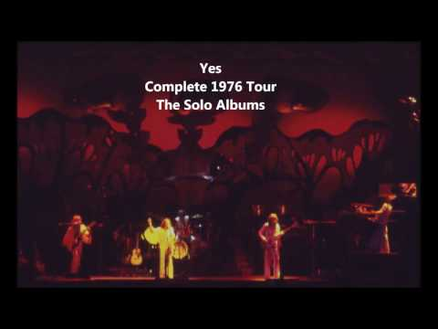 YES - COMPLETE SOLOS TOUR 1976