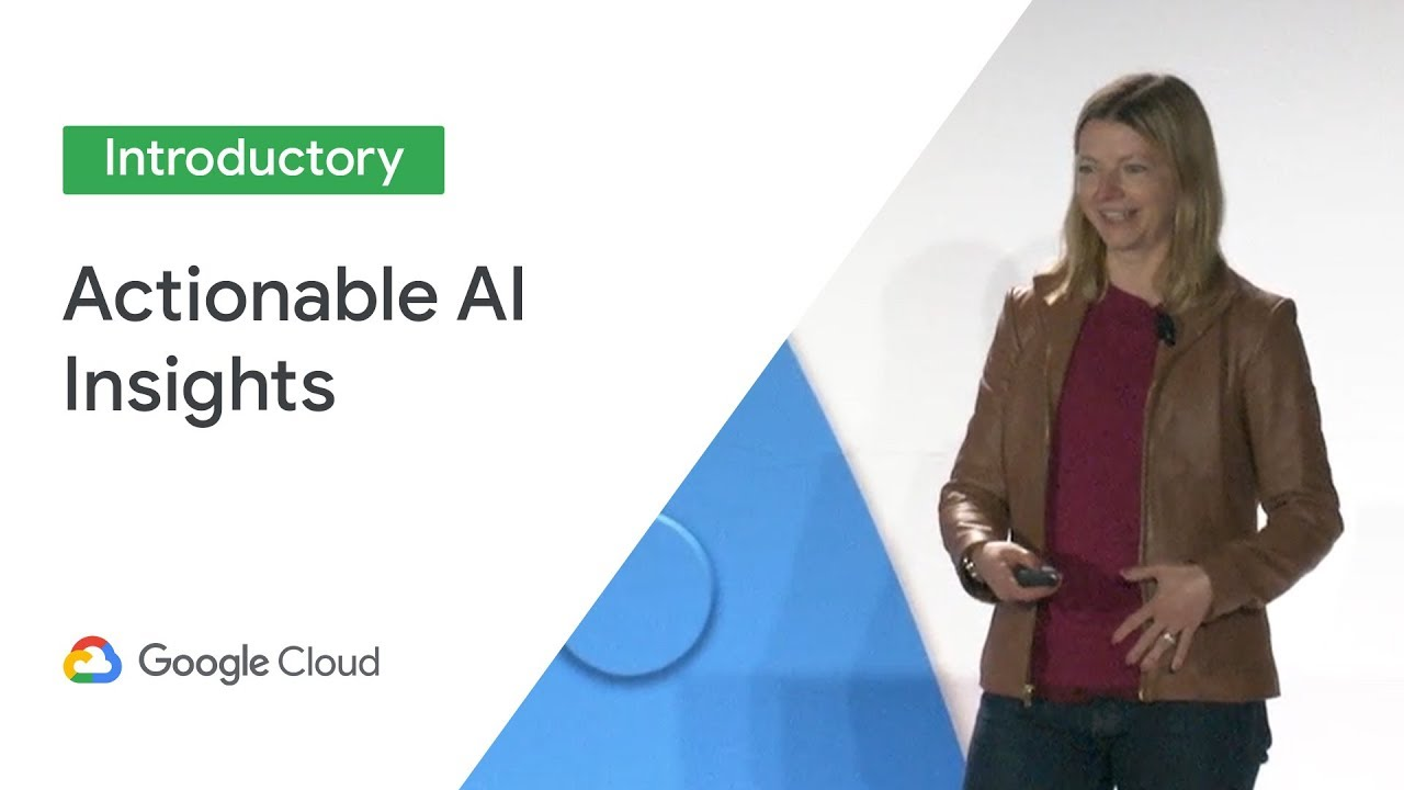 Actionable AI insights using Translation and Natural Language (Cloud Next '19)