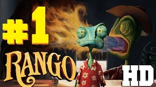 RANGO Gameplay Walkthrought PART 1 (FULL GAME) HD