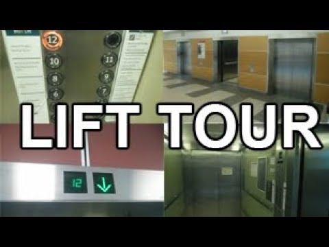LIFT TOUR   Wellington Hospital, Newtown   Wellington CBD