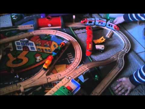 Le train jouet bois