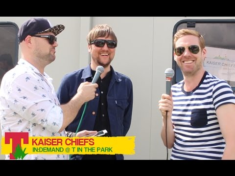 Kaiser Chiefs - T in the Park 2014 Interview | In:Demand