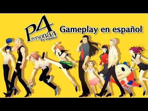 Shin Megami Tensei: Persona 4 Español - Gameplay inicial de la traducción