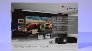 optoma hd26 projector unboxing techcentury home theatre room ep 1