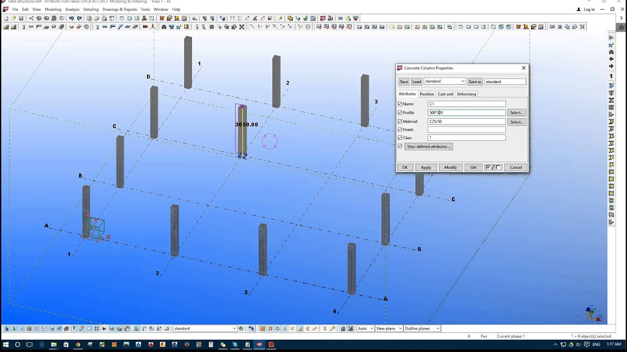 Tekla structures 2016 learning edition.