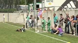 3. OMV Rapid-Nachwuchsturnier: Fußball-Knirpse ganz groß