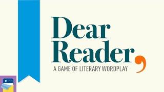 Dear Reader: Apple Arcade iOS Gameplay Walkthrough Part 1 (by Local No. 12)