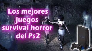 Top 5 - Los Mejores Juegos Survival Horror de la PS2