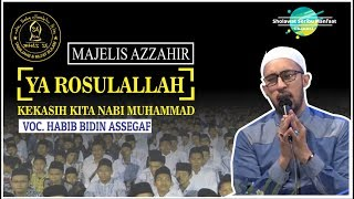 Download Mp3 Ya Rosulallah   Kekasih Kita Nabi Muhammad  _az-zahir Lirik + Arti   Full Hd