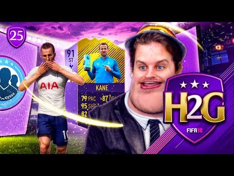 91 POTM HARRY KANE + INSANE FUT CHAMPS REWARDS! HENRY TO GLORY #25! FIFA 18 ULTIMATE TEAM