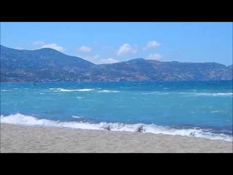 Sounds of life - Relaxing waves - Greece (Crete - Ammoudara) HD
