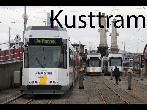 Kusttram Trajectvideo Knokke - Oostende - De Panne 2015
