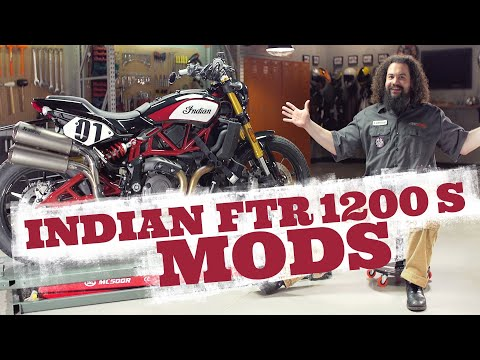 Indian FTR 1200S Motorcycle Mods